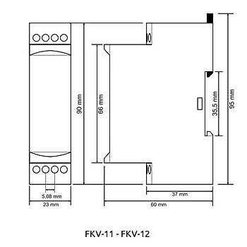 FKV-11 Nötrlü Motor (Faz) Koruma Rölesi TENSE