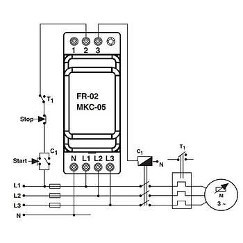 MKC-05 Faz Sýralý Ayarlanabilir Asimetrili Motor (Faz) Koruma Rölesi ENTES