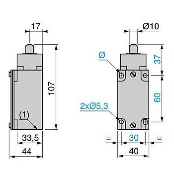 XCKJ161 Metal Pimli Limit Siviç SCHNEIDER