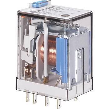 55.32 24VDC 10A 2CO (DPDT) Kontaklý Genel Amaçlý Röle FINDER