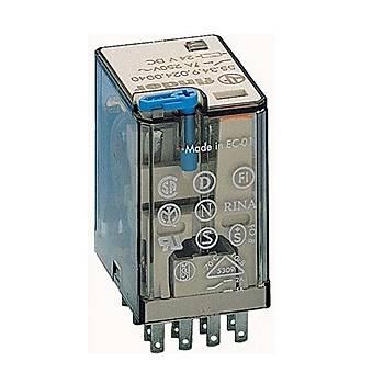 55.34 12VDC 7A 4CO (4PDT) Kontaklý Genel Amaçlý Röle FINDER