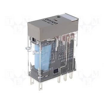 G2R-2-SN 24VDC 5A 2CO (DPDT) Kontaklý Genel Amaçlý Röle OMRON
