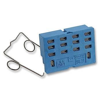 96.14 56 Serisi Röleler Ýçin 4CO (4PDT) PCB Tipi Soket FINDER