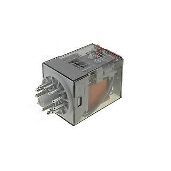 60.13 24VAC 10A 3CO (3PDT) Kontaklý 11 Pinli Genel Amaçlý Güç Rölesi FINDER
