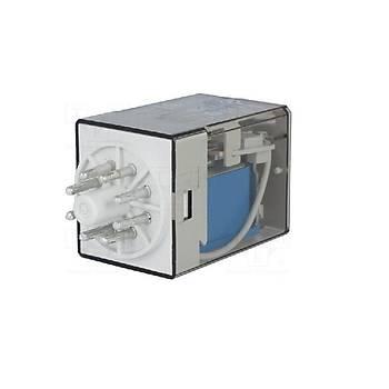 60.13 48VDC 10A 3CO (3PDT) Kontaklý 11 Pinli Genel Amaçlý Güç Rölesi FINDER