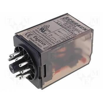 MT326048 48VAC 10A 3CO (3PDT) Kontaklý 11 Pinli Genel Amaçlý Güç Rölesi SCHRACK