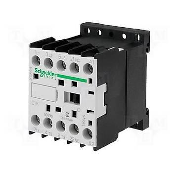 LC1K1610B7 16A (7,5 KW) 24VAC Bobinli 1NO Mini Kontaktör SCHNEIDER