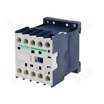 LP1K1210BD 12A (5,5 KW) 24VDC Bobinli 1NO Mini Kontaktör SCHNEIDER