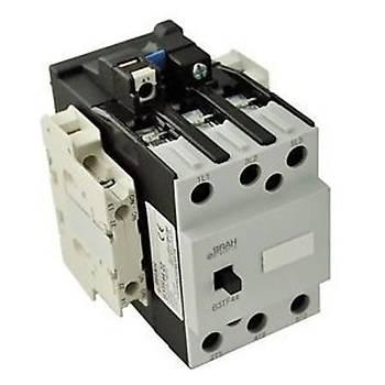 3TF45 22-0AP0 40A (18,5 KW) 230VAC Bobinli 2NO+2NC Trifaze Güç Kontaktörü SIEMENS
