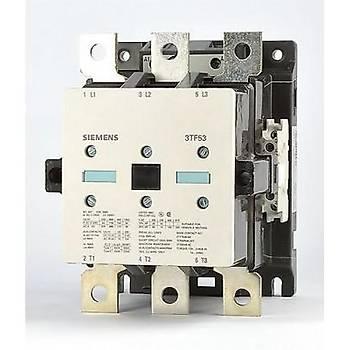 3TF53 22-0AP0 205A (110 KW) 230VAC Bobinli 2NO+2NC Trifaze Güç Kontaktörü SIEMENS