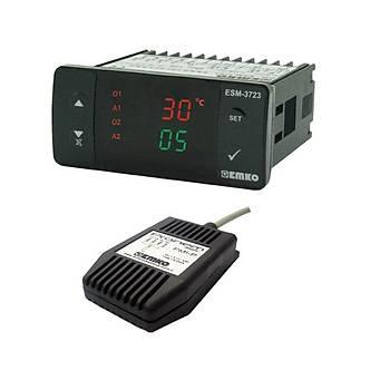 ESM-3723 Dijital Sýcaklýk ve Nem Kontrol Cihazý EMKO
