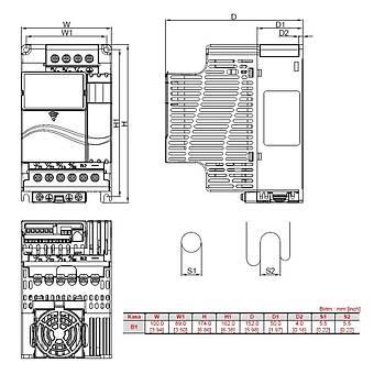 VFD037E43A 3,7 KW Üç Faz 380VAC Beslemeli Sürücü DELTA