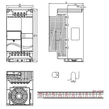 VFD055E43A 5,5 KW Üç Faz 380VAC Beslemeli Sürücü DELTA