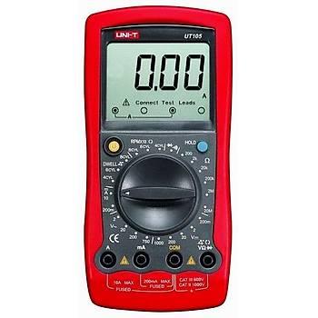 UT 105 El Tipi Dijital Çok Fonksiyonlu Multimetre UNI-T