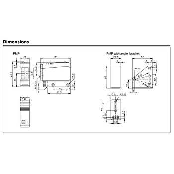 PMP6RGT 6mt Reflektörlü Fotosel Sensör CARLO GAVAZZÝ