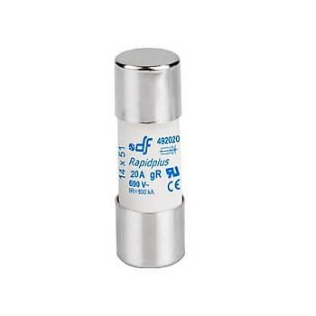 14x51mm 20A Ultra-Rapid (gR) Kartuş Sigorta 492020 DF