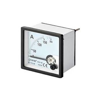 A96-75D 75A 96x96mm Direk Baðlantýlý Analog Ampermetre TENSE