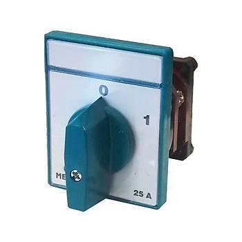 3x25A 0-1 Trifaze Pako Þalter MT019-25A METOP