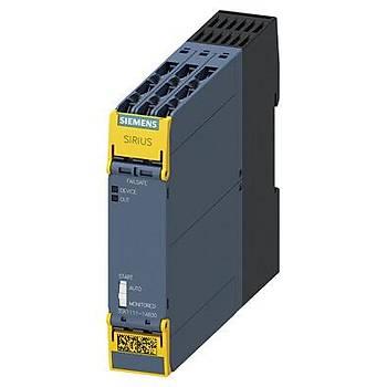 3SK1111-1AB30 24V AC/DC Güvenlik Rölesi SIEMENS