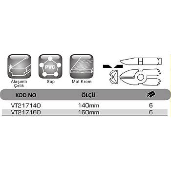 Fiber Optik Kablo Kesici 140mm VT 217140 VIP-TEC