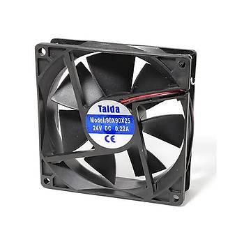 92x92x25mm 24VDC Kare Fan TAIDA
