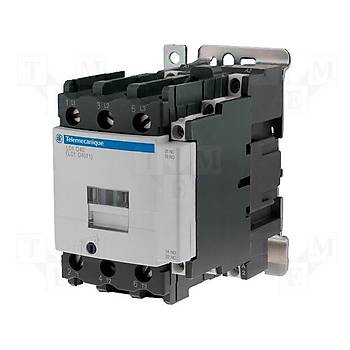 LC1D40BD 40A (18,5 KW) 24VDC Bobinli Trifaze Güç Kontaktörü SCHNEIDER