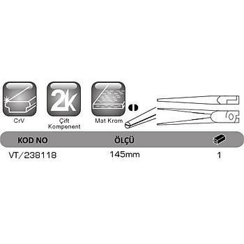 Mikro Ýðne Kargaburun 145mm VT 238118 VIP-TEC