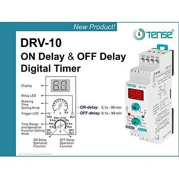 DRV-10 Dijital Fonksiyonel Zaman Rölesi TENSE