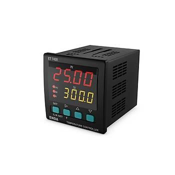 ET7420-230VAC 72x72mm Dijital Isý Kontrol Cihazý (Termostat) ENDA