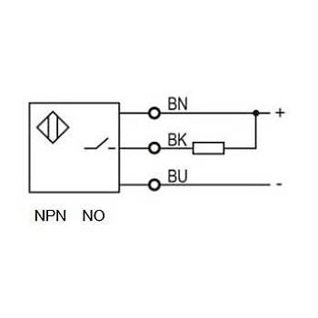 PSFT-DM2DPB PNP NO/NC Reflektörlü Kübik Fotosel Sensör LANBAO