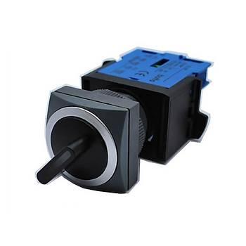 SK22/25-4210-2 22/25mm 1NA 0-1 Kalıcı Mandal Buton BUTTO