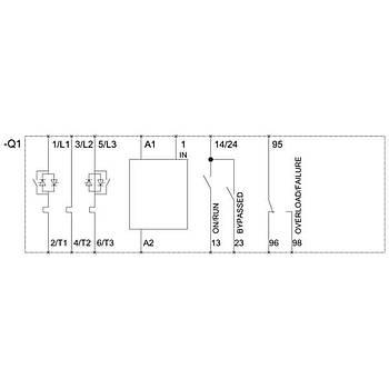 3RW4036-1BB14 Sirius Softstarter 22 KW SIEMENS