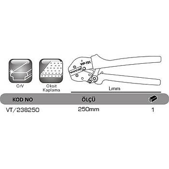 VT 238250 Kablo Pabucu Sýkma Pensesi VIP-TEC