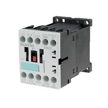 3RT1017-1AB01 12A (5,5KW) 24VAC Sirius Kontaktör SIEMENS