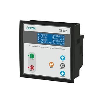 TDK-02 Trifaze Dijital Dalgýç Kontrol Rölesi TENSE
