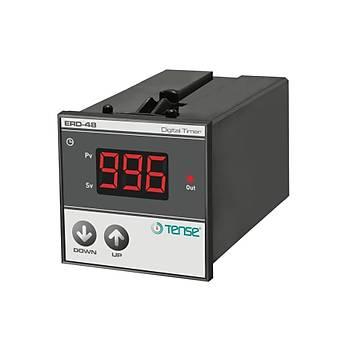 ERD-48 Fonksiyonel 48x48mm Dijital Zaman Rölesi TENSE