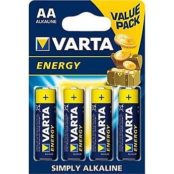 AA 1.5V Alkalin Kalem Pil (4'lü Paket) VARTA