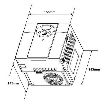 SV022iC5-1 2,2 KW Tek Faz Hýz Kontrol Cihazý LS