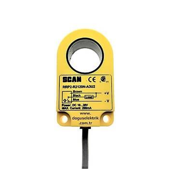 RRP2-R3020N-A3U2 30mm NPN/NO Ýndüktif Ring Sensör SCAN