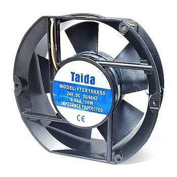 172x150x50mm 24VDC Kare Fan TAIDA