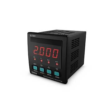 EI7041-230VAC 72x72mm Dijital Ýndikatör ENDA