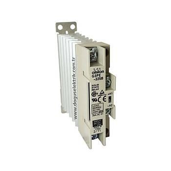 G3PE-225B 25A 12-24VDC Ray Tipi Soðutuculu Solid-State Röle OMRON