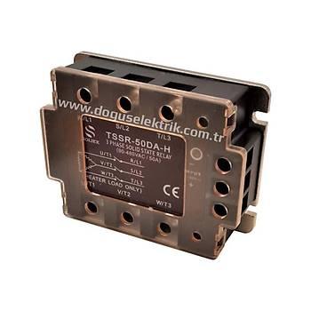 TSSR-50DA-H 50A Trifaze 4-32VDC / 90-480VAC Solid State Röle SOLJEX
