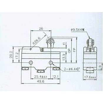 AZ-15GW22-B Kýsa Paletli Metal Makaralý Mini Siviç ALRRA