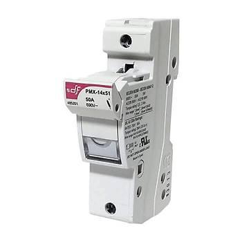 14x51mm 1P Monofaze Kartuş Sigorta Yuvası 485201 DF