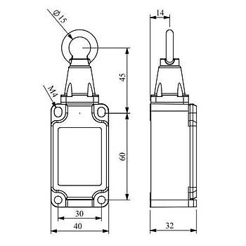 L52K23HUM111 Gerdirmeli Tip Metal Gövdeli Emniyet (Güvenlik) Sivici EMAS