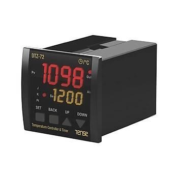DTZ-72 Zaman Ayarlý Fonksiyonel Dijital Termostat TENSE