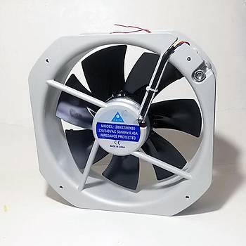 280x280x80mm 220VAC Rulmanlı Kare Fan İLETİM