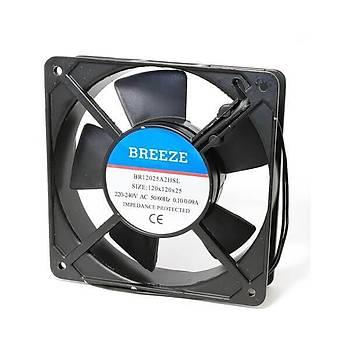 120x120x25mm 230VAC Kare Fan BREEZE