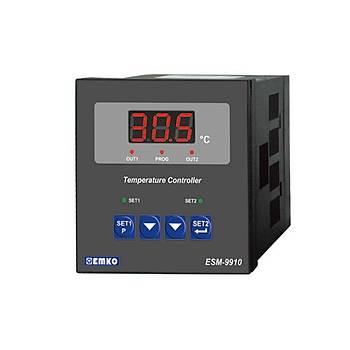 ESM-9910 Çift Setli Çift Röleli J Tipi 220VAC Dijital Termostat EMKO